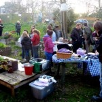 It was great to see the garden full of people all chatting and working together